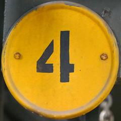 number 4 (Leo Reynolds) Tags: xleol30x squaredcircle 4 four onedigit number xsquarex panasonic lumix fz1000 grouponedigit sqset138