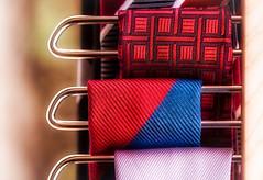 Tidy (Daniela 59) Tags: 100xthe2017edition image89100 theworldaroundme flickrfriday abitoforder ties hanger tiehanger textures colourful colourfultexture danielaruppel