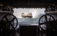 170709-N-ZK016-0071 (Watash1) Tags: atlantic ocean amphibious assault ship phibron4 pmint welldeck 26th meu acu4 craft unit iwojima lhd7 atlanticocean usa