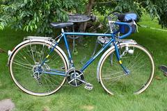 Bridgestone Roadman 1985, restored in July 2017 (nori127) Tags: roadman ロードマン restore bike bicycle レストア 自転車 昭和 ブリジストン bridgestone オルトリーブ ortlieb