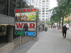 War of the Planet of the Apes Poster 8569 (Brechtbug) Tags: war planet apes poster beekman theater marquee billboard ad standee posters 2017 film movie profile 07152017 action movies films billboards plastic statue scary adventure ceasar caesar theatre advertisement chimp chimpanzee gorilla maurice orangutan 66th 67th street 2nd avenue new york city