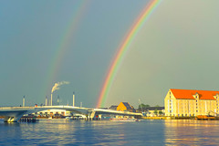 Rainbow Connection (tagois) Tags: rainbow regnbue christianshavn copenhagen københavn danmark denmark kissingbridge inderhavnsbro denskævehashbro