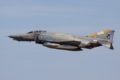 01508 (IanOlder) Tags: mcdonnell douglas f4 f4e phantom hellenic air force 338 mira andravida ares spooky greek fighter jet military aircraft aviation classic riat fairford pursuit bombing squadron 01508