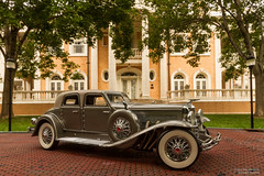 More Grand than Gatsby (Ken Hendricks and Larry Patchett) Tags: franklinmint 1933 duesenberg duesie sjtorpedo phaeton gordonbuehrig rolston twentygrand granthumphreys mansion denver colorado 124scale diecast model car forcedperspective
