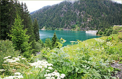 Lac-barrage de Saint-Guérin, Arèches-Beaufort, Savoie, Alpes, France (claude lina) Tags: claudelina france rhônealpes alpes savoie lac barrage barragedesaintguérin beaufort arèches beaufortin