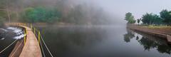 Flickr (Tiago Lourenco) Tags: janeiro de cima fundão rio zêzere river portugal nikon d300 water foog novoeiro nevoerio ponte bridge