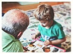 My father, my son ♡ (PattyK.) Tags: family grandfather book childrensbook reading son boy love nikond3100 snapseed greece hellas ellada griechenland whereilive athome grecia ελλάδα οικογένεια γιόσ βιβλίο παιδικόβιβλίο στοσπίτι
