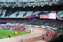T44 Mens 200m final (h_savill) Tags: london 2017 world para athletics championship stratford july stadium competition compete athelete atheletics disability spectator aport track field seat crowd olympic park t44 mens 200m