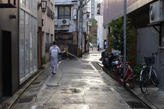 Uchimizu. (Yasuyuki Oomagari) Tags: street kimono water japan summer evening nikon nikkor 35mmf14g