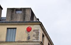 Evadez-vous (HBA_JIJO) Tags: streetart urban graffiti paris animal art france artist hbajijo wall mur painting peinture humour mouse souris humor charactere urbaine freedom twopy rat culture lesgrandsvoisins liberta