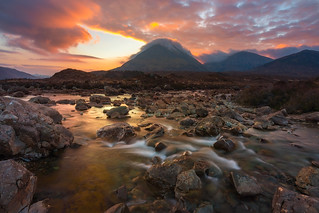 Sligachan... Sunrise On Fire!