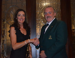 Mr Martin Campbells Captains Day Lady Winner