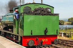 Bo'ness & Kinneil Railway - NCB (060ST) Engine No 9 Rear (Le Monde1) Tags: boness kinneil lemonde1 nikon d800e museum heritage uk bonesskinneilrailway museumofscottishrailways ncb 060st engine engineer locomotive footplate no9 scotland steam railway