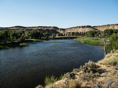 203/365 2017  Wyoming Landscapes (d2roberts) Tags: 365the2017edition 3652017 day203365 22jul17 fishing flyfishing wyoming landscapes river northplatte northfork