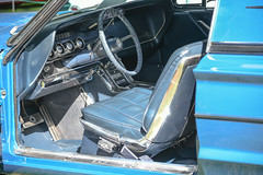 1966 Ford Thunderbird Landau (faasdant) Tags: 45th annual forest grove concours delegance 2017 pacific university campus classic car automobile show exhibition 1966 ford thunderbird landau blue coupe