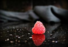 2017 Sydney: Raspberry Reflection (dominotic) Tags: 2017food fruit raspberry reflection raspberryreflection sydney australia