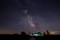 Stars in the Heavens (Paul Domsten) Tags: church milkyway stars heavens valleygrovechurch pentax longexposure night evening dark star sky