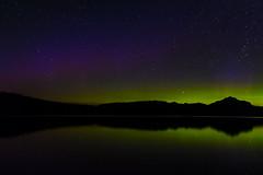 Northern Lights, Lake McDonald (jameshouse473) Tags: northern lights glacier national park mt montana lake mcdonald aurora borealis stars night