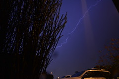 DSC_7590 (georgerocheleau) Tags: mesa arizona storm clouds rain lightning therebeastormabrewin