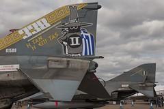 The tail of the Phantom (b13bhm) Tags: riat royalinternationalairtattoo raffairford phantom hellenicairforce f4e