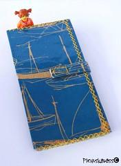 Titanic (helarraga) Tags: blue titanic boats sea summer wallet accessory