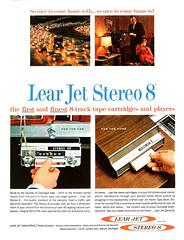 1966 Lear Jet Stereo 8-track Player (Tom Simpson) Tags: 1966 learjet stereo 8track player 1960s vintage electronics vintageelectronics ad ads advertising advertisement vintagead vintageads
