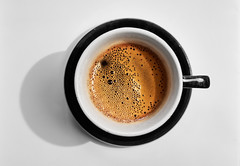 Black Coffee (macplatti) Tags: xe2 xf1855mmf284rlmois black coffee schwarz kaffee crema barista blackandwhite schwarzweiss monochrome alienskin koblach vorarlberg austria aut