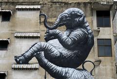 graffiti and streetart in bangkok (wojofoto) Tags: graffiti streetart bangkok thailand wojofoto wolfgangjosten mural roa