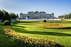 Belvedere Palace in Vienna 2 (a7m2) Tags: palace vienna sony gumilar history culture monarchie austria