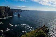 Cliffs of Moher - Ireland (Jethro_aqualung) Tags: cliff cliffs moher ireland irlanda éire nikon d3100 scogliera nature natura landscape panoramic panorama sea mare oceano ocean atlantic atlantico
