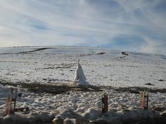 Snow dinosaur? Snow fields, Middle Atlas near Azrou, Morocco (Paul McClure DC) Tags: middleatlas morocco jan2017 almaghrib ifrane azrou mountains winter scenery snow northafrica
