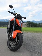 KTM Super Duke 1290 (6) (elgaspoo) Tags: ktm super duke 1290 hurric bike auspuff motorrad orange weiss