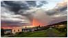 2017-07-13 Sunset with rainbow (Kirsten Osa) Tags: gjøvik oppland norway no