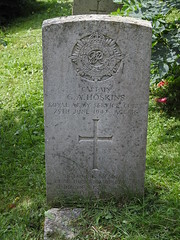 Monmouth Cemetery, Osbaston Road, Monmouth 12 July 2017 (Cold War Warrior) Tags: captaingeorgealberthoskins rasc royalarmyservicecorps ww2 cwgc taphology cemetery graveyard monmouth monmouthshire