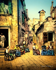 Digital Pastel Drawing of a Courtyard in Venice Near the Calle Larga S. Marco by Charles W. Bailey, Jr. (Charles W. Bailey, Jr., Digital Artist) Tags: courtyard callelargasmarco sanmarco venice venezia veneto italy europe photoshop photomanipulation topaz topazlabs topazdejpeg topazclean topazclarity topazrestyle topazlenseffects topazdetail topazimpression alienskin alienskinsoftware alienskinexposure topazremask drawing pastel pasteldrawing art fineart visualarts digitalart artist digitalartist charleswbaileyjr