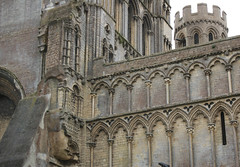 There's a bit missing! (Richard Holland) Tags: ely elycathedral cambridgeshire medieval gothic gothicarchitecture tower ecclesiastical cathedral
