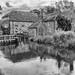 Bindon House (Julian Chilvers) Tags: dorset uk wool bindonhouse monochrome bw blackandwhite water river riverfrome