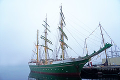 DSC08046 - Alexander Von Humboldt II (archer10 (Dennis) 101M Views) Tags: halifax ship tall fog fishing lobster boats sony a6300 ilce6300 18200mm 1650mm mirrorless free freepicture archer10 dennis jarvis dennisgjarvis dennisjarvis iamcanadian novascotia canada rendezvous2017tallshipsregatta tallships halifaxharbour alexandervonhumboldtii