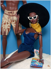 Summer Breeze (FashionDragon) Tags: adelemakeda themuse africanamerican blackbarbie fashionroyalty fashiondoll designerdoll byronlars jasonwu stephenburrows bobmackie integritytoys
