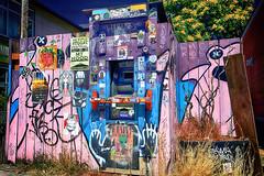 Motley Money Machine (Ian Sane) Tags: ian sane images motleymoneymachine atm art decorated enhanced reinvented alberta arts district northeast portland oregon canon eos 5ds r camera ef1740mm f4l usm lens