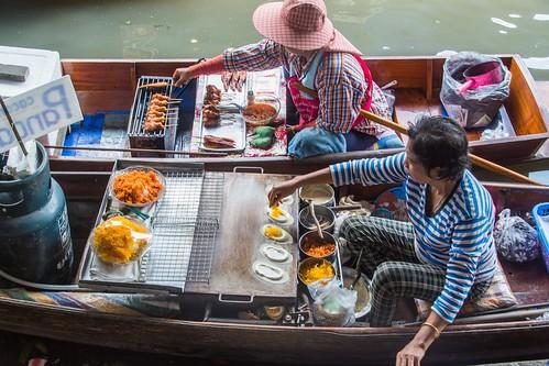 marche fottant damnoen saduak - thailande 53
