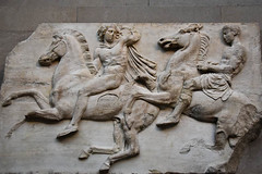 Horsemen Of The North Frieze, Parthenon (meg21210) Tags: parthenon classical ancient art frieze greece greek britishmuseum london bm england uk greatbritain marbles marble 447432bc elginmarbles