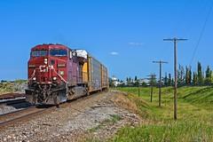 CP 8606 (TVR-Rail-Pics) Tags: trainsofab trainsofcanada cnandiantrains canadianrailway cprail railway railwaysofcanada