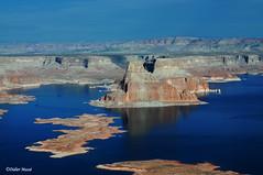 Lac Powell (11) (didier95) Tags: lacpowell page arizona bleu paysage lac montagne etatsunis ameriquedelouest reflet