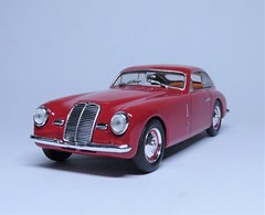 Maserati A6 1500 Pininfarina 1949 (4) (dougie.d) Tags: hachette italia italy leomodels partwork model modelauto automodel modelcar 143 scale diecast maserati pininfarina 1949 1500