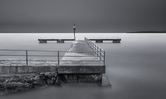Jetty in the Med. (paulantony2) Tags: lee nikon d7100 jetty longexposure monochrome blackandwhite seascape sea