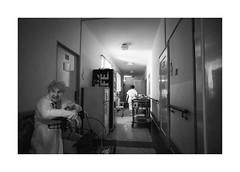 (Jan Dobrovsky) Tags: 21mm biogon retirementhome monochrome grain dark people reallife leicam10 northernbohemia blackandwhite social indoor document