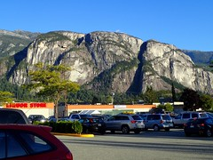 Clear Skies Yesterday (I Flickr 4 JOY) Tags: squamish stawamuschief bluesky rushhour cleanair forestfiresmoke visability