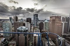 Vancouver BC - Exchange Tower (36) (doublevision_photography) Tags: vancouver vancouvercity vancouverrealestate vancouverbc vancouverskyline vancity vancouvercanada jasocrane constructioncrane vancouverconstruction roofing vancouverroofing contruction towercranephotography flyingtables tableflying
