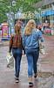 Girls in the rain (Steenvoorde Leen - 5.6 ml views) Tags: 2017 doorn utrechtseheuvelrug rain regen paardenstaart ponytail girl fille gosse dirne mädchen muchacha chica jovencita teen teenager ado tiener pferdeschwanz